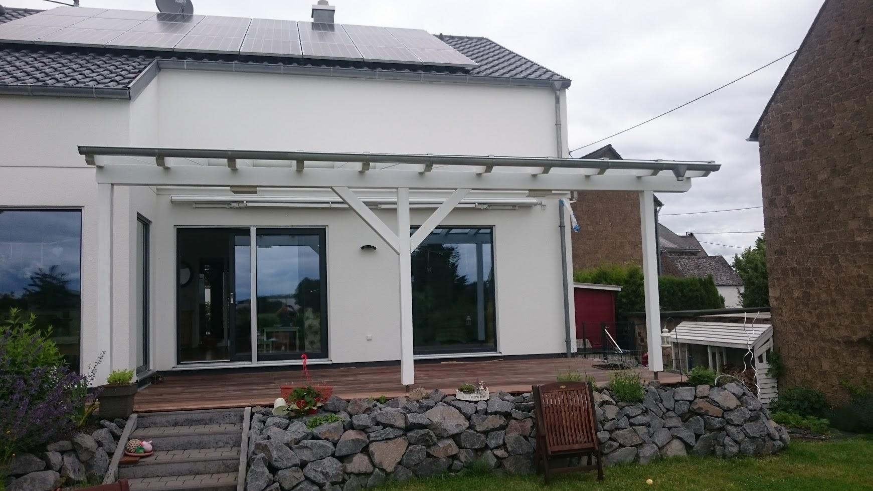 Terrassendach aus Leimholz | DREKU GmbH