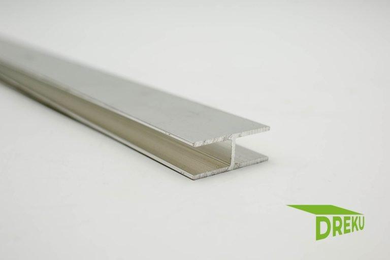 Aluminium H-Profil für VSG