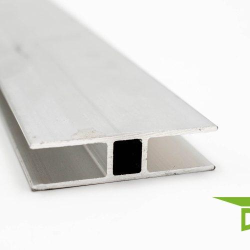 Aluminium H - Profil 6 mm oder 10 mm