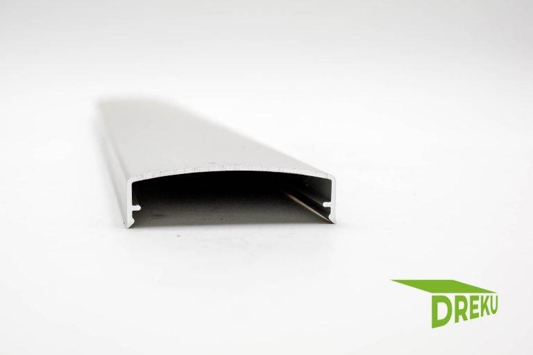 Aluminium Klemmdeckel blank