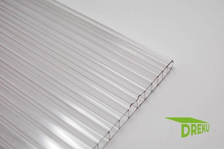 Polycarbonat-Stegplatte 10mm klar
