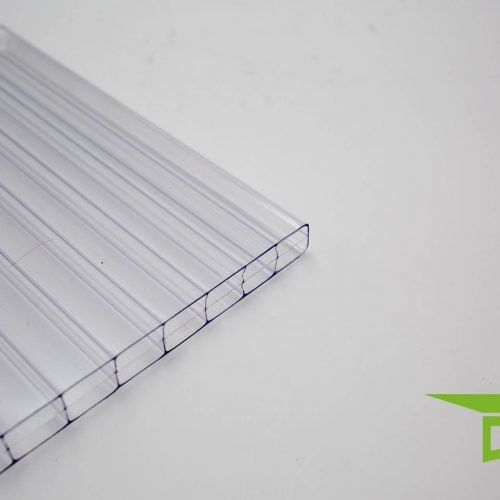 "Polycarbonat-Stegplatte 16 mm ""klar'"""