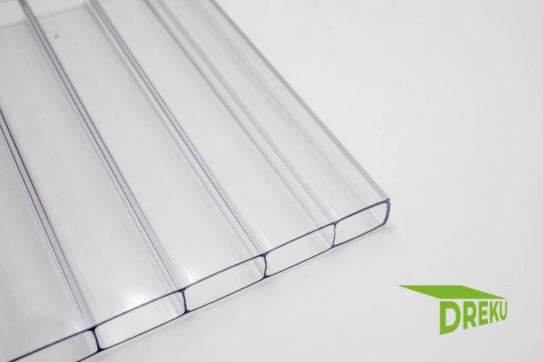 Polycarbonat-Stegplatte 16 mm klar' BASIS