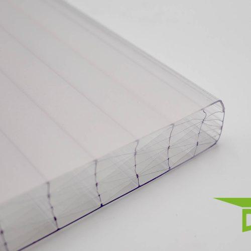 "Polycarbonat-Stegplatte 25 mm ""klar'"" THERMO"