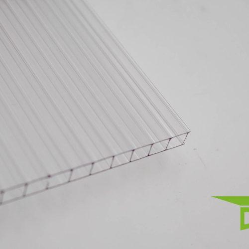 Polycarbonat-Stegplatte 6 mm klar'