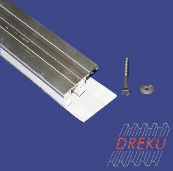 Randprofil für Glasscheiben 8 oder 10 mm auf Holz