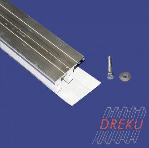 Randprofil für Glasscheiben 8 oder 10 mm auf Metall