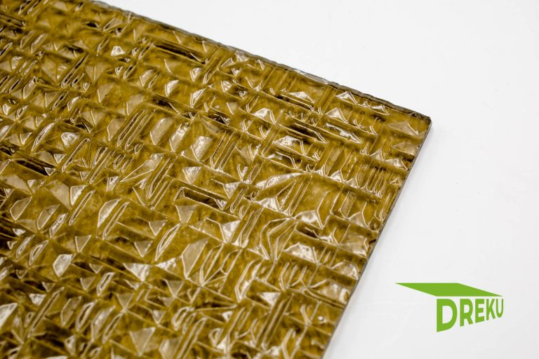 "Acrylglas 6 mm 'Pyramide"", bronce"