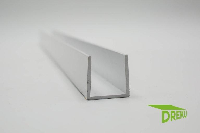 Kunststoff U-Profil aus PVC