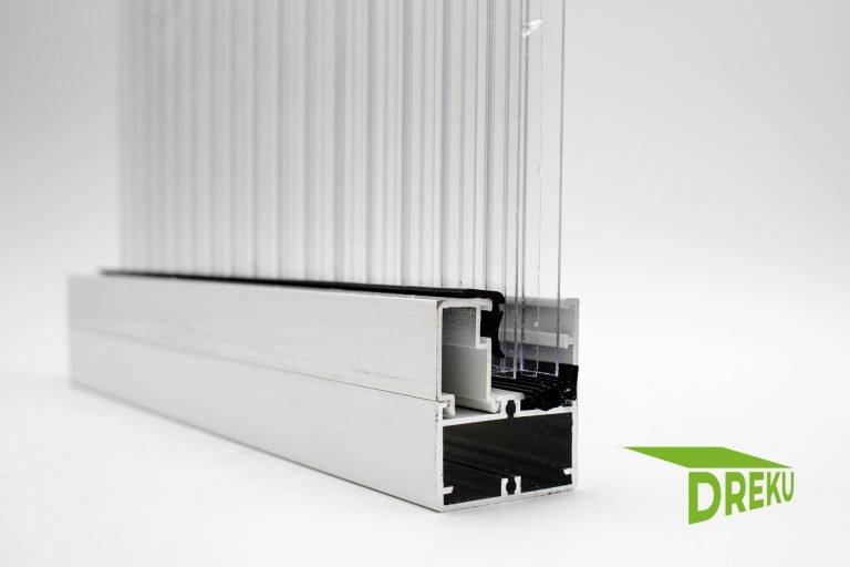 """Rahmenprofil Edel für 16 mm Platten """"weiß"""""""