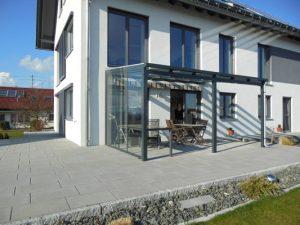 Terrassenüberdachungen mit Seitenwand